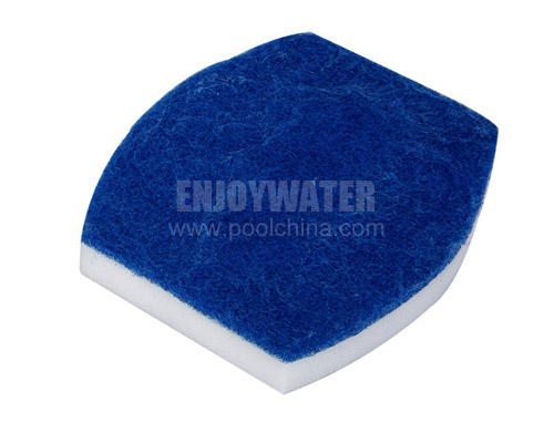 Set of 2 replacement scrub pads for BR12-1 (2pcs)