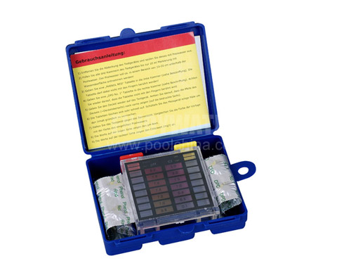 DPD test kit with DPD 1 & phenol red (10 tablets each)