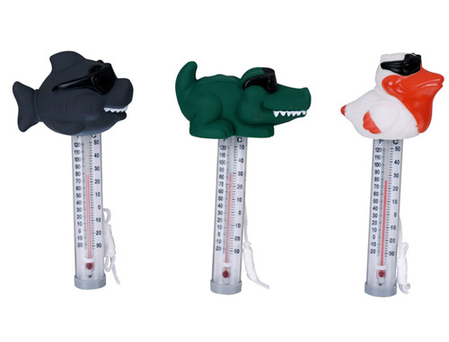 Cool floatling animal thermometer