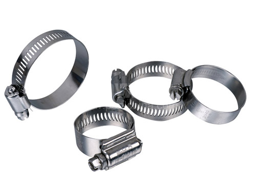 Stainless steel hose clamp 1.25