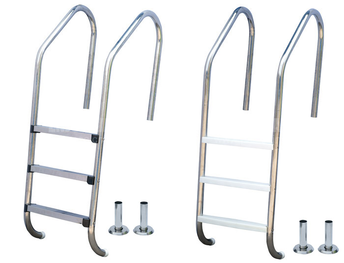 Stainless steel pool ladders